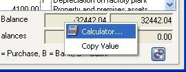 Number Calculator Context Menu