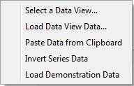 Graphs 2 Data Sources context menu