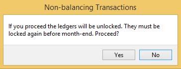 Unlock Ledgers Message