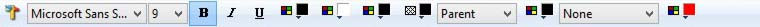 Environment Designer Toolbar