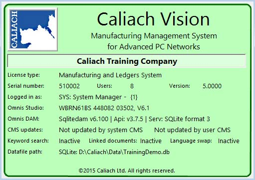 About Caliach Vision