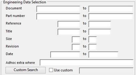 Engineering Data Selection