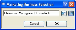 Marketing Business Selection