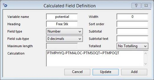 ScratchPad Calculated Field Definition