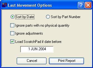 Last Movement Options